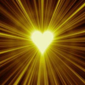 Sugárzó, szerető szív, mely keresi a párját