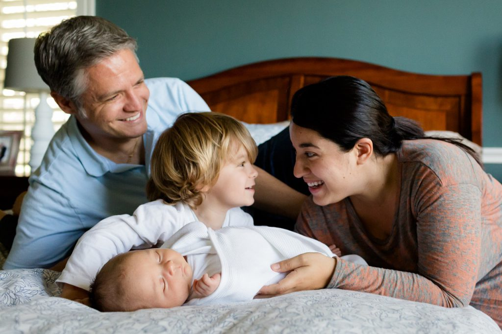 Boldog, kiegyensúlyozott család, tele önbizalommal