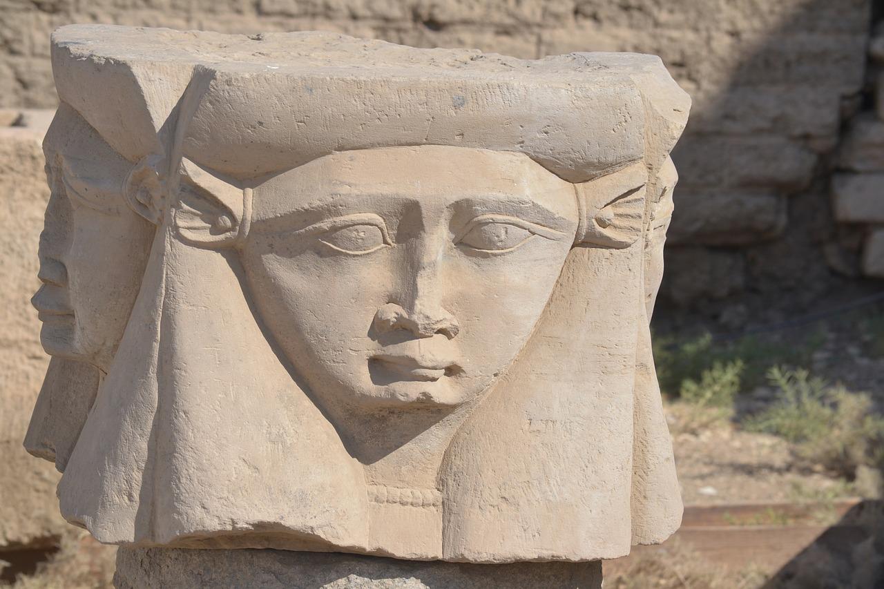 Hathor istennő (Forrás: Pixabay)